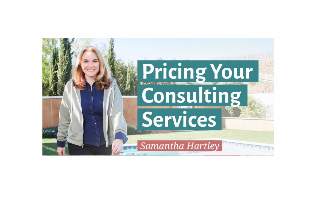 Pricing Your Consulting Services