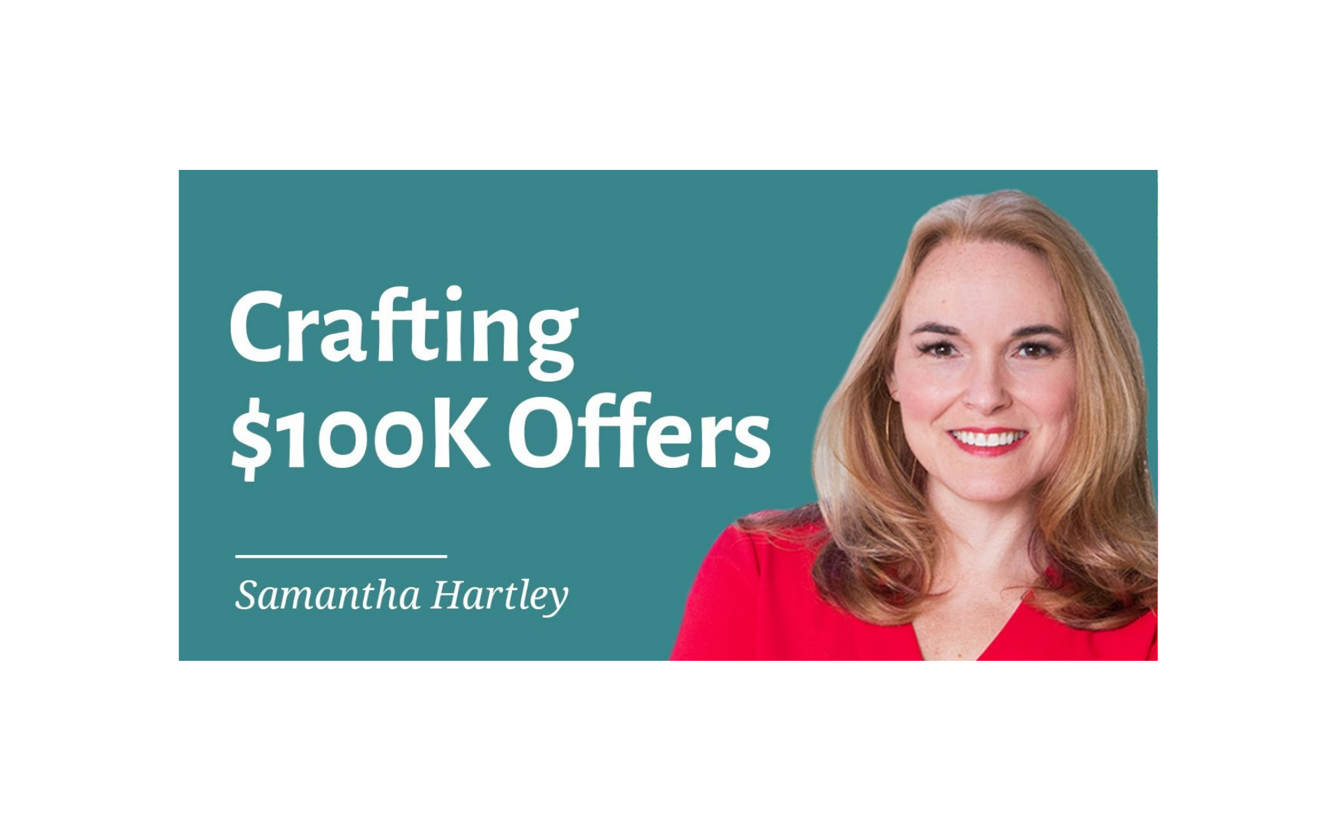 Crafting 100k Offers